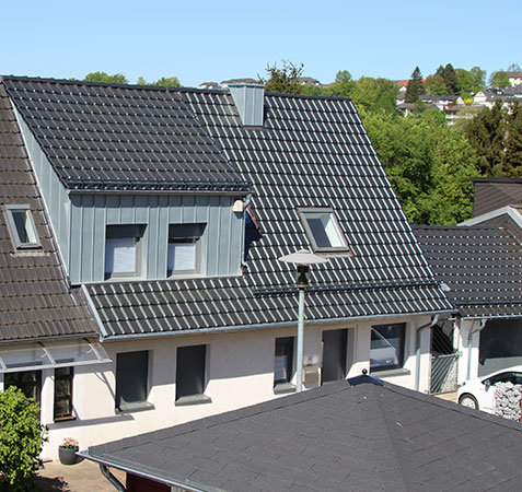 Neue Gaube + Dacheindeckung